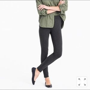 NWT J. Crew Any Day Pant in Stretch Ponte Gray XS